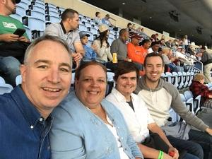 Frank Irwin attended North Carolina Tar Heels vs. Virginia Tech Hokies - NCAA Football on Oct 13th 2018 via VetTix