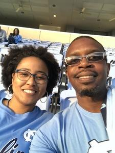 Rodney attended North Carolina Tar Heels vs. Virginia Tech Hokies - NCAA Football on Oct 13th 2018 via VetTix