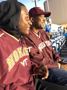 Daleta attended North Carolina Tar Heels vs. Virginia Tech Hokies - NCAA Football on Oct 13th 2018 via VetTix