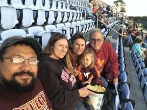 Said Lazo attended North Carolina Tar Heels vs. Virginia Tech Hokies - NCAA Football on Oct 13th 2018 via VetTix
