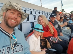 David attended North Carolina Tar Heels vs. Virginia Tech Hokies - NCAA Football on Oct 13th 2018 via VetTix