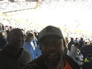 Tyler attended North Carolina Tar Heels vs. Virginia Tech Hokies - NCAA Football on Oct 13th 2018 via VetTix