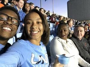 Richard attended North Carolina Tar Heels vs. Virginia Tech Hokies - NCAA Football on Oct 13th 2018 via VetTix