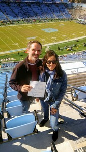 Brian attended North Carolina Tar Heels vs. Georgia Tech Yellow Jackets - NCAA Football - Time TBA on Nov 3rd 2018 via VetTix