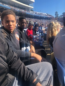 Joe Hansley attended North Carolina Tar Heels vs. Georgia Tech Yellow Jackets - NCAA Football - Time TBA on Nov 3rd 2018 via VetTix