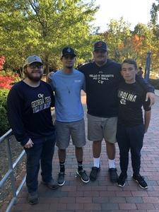Brittin attended North Carolina Tar Heels vs. Georgia Tech Yellow Jackets - NCAA Football - Time TBA on Nov 3rd 2018 via VetTix