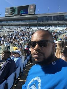 Berry attended North Carolina Tar Heels vs. Georgia Tech Yellow Jackets - NCAA Football - Time TBA on Nov 3rd 2018 via VetTix