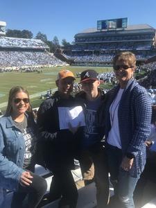 Guy attended North Carolina Tar Heels vs. Georgia Tech Yellow Jackets - NCAA Football - Time TBA on Nov 3rd 2018 via VetTix