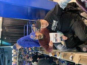 Paul (PJ) attended UMASS Lowell River Hawks vs. Merrimack Warriors - NCAA Ice Hockey on Feb 22nd 2019 via VetTix