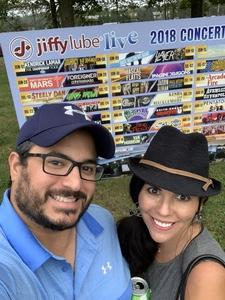 Dave attended Wmzq Fall Fest Featuring Lady Antebellum and Darius Rucker - Country on Oct 6th 2018 via VetTix