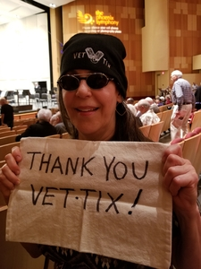 LB attended The Phoenix Symphony- Tchaikovskyas Fourth and Rachel Barton Pine - Sunday Matinee on Oct 14th 2018 via VetTix