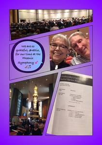 Stephen attended The Phoenix Symphony- Tchaikovskyas Fourth and Rachel Barton Pine - Sunday Matinee on Oct 14th 2018 via VetTix