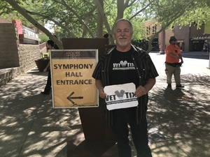 Robert attended The Phoenix Symphony- Tchaikovskyas Fourth and Rachel Barton Pine - Sunday Matinee on Oct 14th 2018 via VetTix