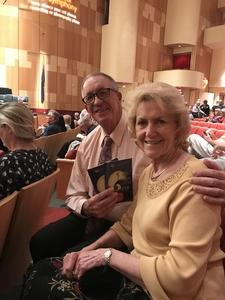 Bob attended The Phoenix Symphony- Tchaikovskyas Fourth and Rachel Barton Pine - Sunday Matinee on Oct 14th 2018 via VetTix