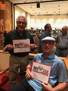 James attended The Phoenix Symphony- Tchaikovskyas Fourth and Rachel Barton Pine - Sunday Matinee on Oct 14th 2018 via VetTix