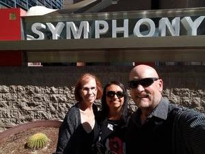 Michael attended The Phoenix Symphony- Tchaikovskyas Fourth and Rachel Barton Pine - Sunday Matinee on Oct 14th 2018 via VetTix