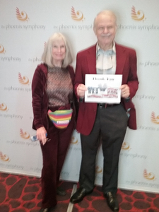 Bruce attended The Phoenix Symphony- Tchaikovskyas Fourth and Rachel Barton Pine - Sunday Matinee on Oct 14th 2018 via VetTix