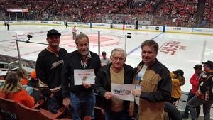 Daniel attended Anaheim Ducks vs. Detroit Red Wings - NHL - Antis Roofing Community Corner on Oct 8th 2018 via VetTix