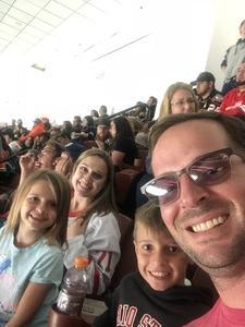David attended Anaheim Ducks vs. Detroit Red Wings - NHL - Antis Roofing Community Corner on Oct 8th 2018 via VetTix