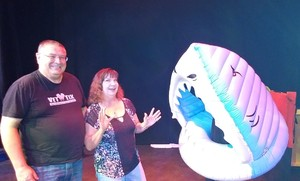 Eddie attended Jaws: Live, Abridged & Completely Underfunded - Friday Show on Oct 5th 2018 via VetTix
