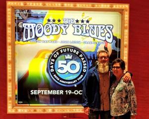 DENNY attended The Moody Blues on Oct 5th 2018 via VetTix