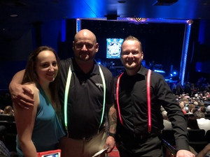 Chris attended The Moody Blues on Oct 5th 2018 via VetTix