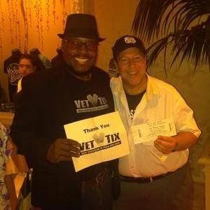 Perry attended The Moody Blues on Oct 5th 2018 via VetTix