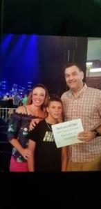 Jay attended Jake Owen: Life's Whatcha Make It Tour - Country on Oct 6th 2018 via VetTix