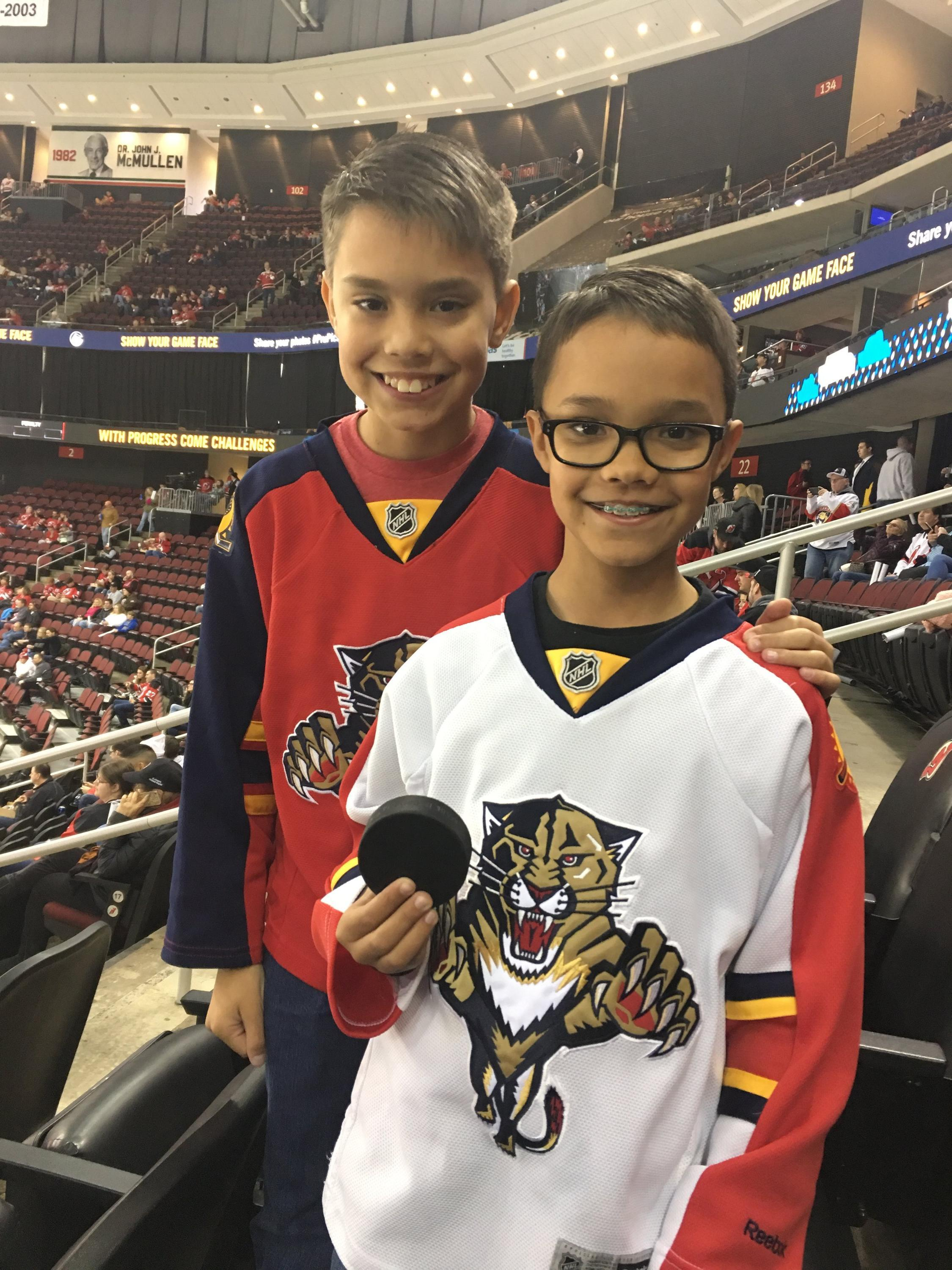 Angel attended New Jersey Devils vs. Florida Panthers - NHL on Oct 27th  2018 via df779981c