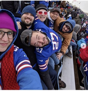 kimberly attended Buffalo Bills vs. Detroit Lions - NFL on Dec 16th 2018 via VetTix