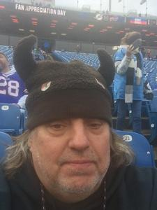 walter attended Buffalo Bills vs. Detroit Lions - NFL on Dec 16th 2018 via VetTix