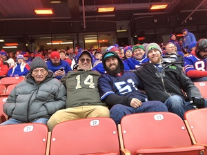 David attended Buffalo Bills vs. Detroit Lions - NFL on Dec 16th 2018 via VetTix