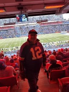 Ford Beckwith attended Buffalo Bills vs. Detroit Lions - NFL on Dec 16th 2018 via VetTix