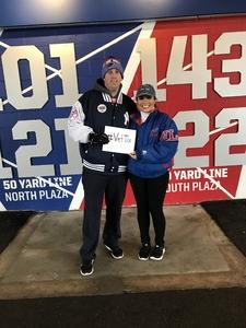 Tbot attended Buffalo Bills vs. Detroit Lions - NFL on Dec 16th 2018 via VetTix