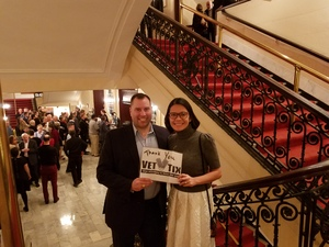 Peter attended Trifonov Plays Prokofiev - Presented by the Chicago Symphony Orchestra on Oct 20th 2018 via VetTix