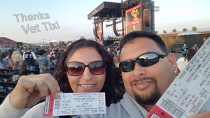 Jessie F. attended Jack's 13th Show with 311, Third Eye Blind, Stone Temple Pilots, Neon Trees, Everclear and Alien Ant Farm on Oct 14th 2018 via VetTix