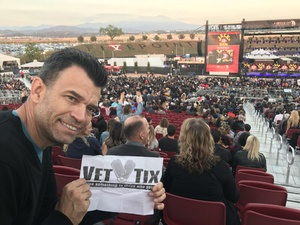 Todd attended Jack's 13th Show with 311, Third Eye Blind, Stone Temple Pilots, Neon Trees, Everclear and Alien Ant Farm on Oct 14th 2018 via VetTix