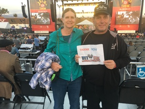 James attended Jack's 13th Show with 311, Third Eye Blind, Stone Temple Pilots, Neon Trees, Everclear and Alien Ant Farm on Oct 14th 2018 via VetTix