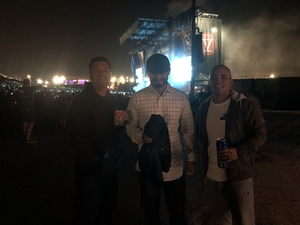 Ronnie attended Jack's 13th Show with 311, Third Eye Blind, Stone Temple Pilots, Neon Trees, Everclear and Alien Ant Farm on Oct 14th 2018 via VetTix