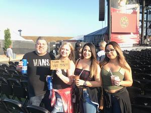Major M attended Jack's 13th Show with 311, Third Eye Blind, Stone Temple Pilots, Neon Trees, Everclear and Alien Ant Farm on Oct 14th 2018 via VetTix