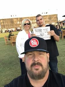Carl attended Jack's 13th Show with 311, Third Eye Blind, Stone Temple Pilots, Neon Trees, Everclear and Alien Ant Farm on Oct 14th 2018 via VetTix