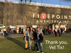 Mara Ignacio attended Jack's 13th Show with 311, Third Eye Blind, Stone Temple Pilots, Neon Trees, Everclear and Alien Ant Farm on Oct 14th 2018 via VetTix