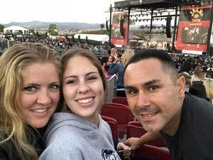 Miguel attended Jack's 13th Show with 311, Third Eye Blind, Stone Temple Pilots, Neon Trees, Everclear and Alien Ant Farm on Oct 14th 2018 via VetTix