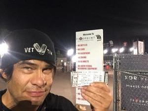 Allen attended Jack's 13th Show with 311, Third Eye Blind, Stone Temple Pilots, Neon Trees, Everclear and Alien Ant Farm on Oct 14th 2018 via VetTix