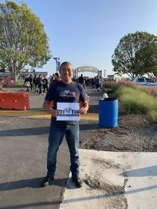 Jeong attended Jack's 13th Show with 311, Third Eye Blind, Stone Temple Pilots, Neon Trees, Everclear and Alien Ant Farm on Oct 14th 2018 via VetTix