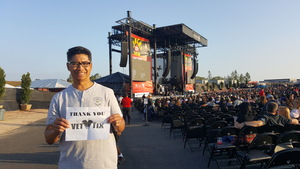 ROMEO attended Jack's 13th Show with 311, Third Eye Blind, Stone Temple Pilots, Neon Trees, Everclear and Alien Ant Farm on Oct 14th 2018 via VetTix