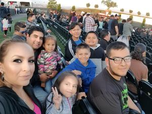 Guillermo attended Jack's 13th Show with 311, Third Eye Blind, Stone Temple Pilots, Neon Trees, Everclear and Alien Ant Farm on Oct 14th 2018 via VetTix