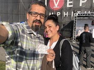 Jerry attended Jack's 13th Show with 311, Third Eye Blind, Stone Temple Pilots, Neon Trees, Everclear and Alien Ant Farm on Oct 14th 2018 via VetTix