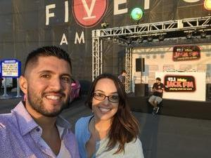 Ruben attended Jack's 13th Show with 311, Third Eye Blind, Stone Temple Pilots, Neon Trees, Everclear and Alien Ant Farm on Oct 14th 2018 via VetTix