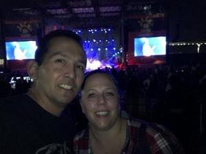 David attended Jack's 13th Show with 311, Third Eye Blind, Stone Temple Pilots, Neon Trees, Everclear and Alien Ant Farm on Oct 14th 2018 via VetTix